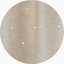Silk Road Kinderzimmer Vorhang, Ausgehöhlt Sterne