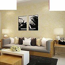 Silk Wallpaper/Schlafzimmer einfarbigen Tapete/Vliestapete/Wohnzimmer Tapete/TV Kulisse Tapete-B