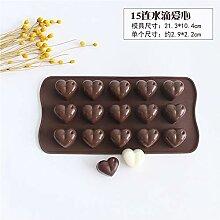 sillyxin Handgemachte Schokoladenform Backen