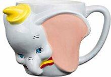 Silver Buffalo Disney Dumbo Face Becher aus