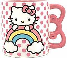 Silver Buffalo Hello Kitty Keramiktasse mit