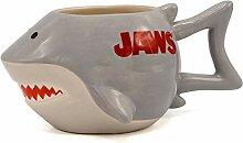 Silver Buffalo JW13063D Jaws Shark 3D Tasse aus