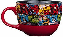 Silver Buffalo Marvel Comics Grid Keramikbecher,