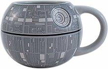Silver Buffalo Star Wars Todesstern-Kaffeetasse