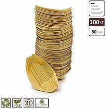 Silverkitchen 100x BIO Fingerfood Schale 8 x 5,5