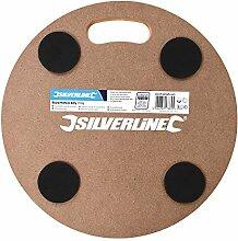 Silverline 739663 Rolluntersetzer, rund 250 kg
