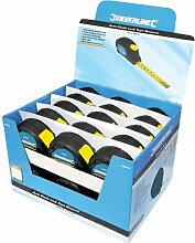 Silverline 868787 Meßbänder mit Rücklaufsperre