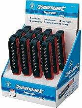 Silverline 941210 LED-Taschenlampe mit