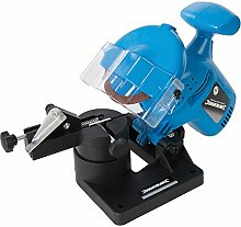Silverline Elektrisches Heimwerker-Sägekettenschärfgerät, 220 W, 1 Stück, blue, 613346