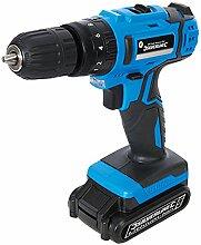 Silverline Heimwerker-Akku-Schlagbohrmaschine, 18 V, 1 Stück, blau, 946680