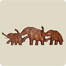 Simandra Wandmaske Elefant I Holzmaske aus
