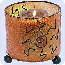Simandra Windlicht Kerzen-Ständer Teelicht-Halter