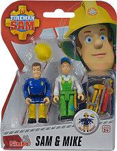 Simba Feuerwehrmann Sam 2er Figuren-Set Sam und