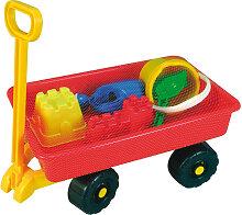 Simba Hand-Sandwagen mit Sandspielzeug 100 Kg Tragkraft [Kinderspielzeug]