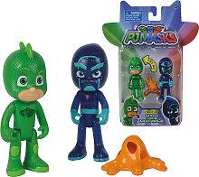 Simba PJ Masks Figuren Set 2er Pack Gecko und
