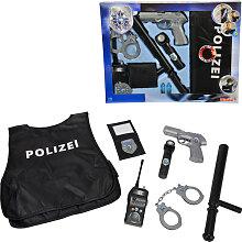Simba Polizei Einsatz-Set mit Schutzweste