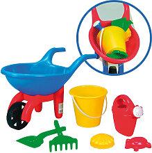 Simba Schubkarre mit Sandspielzeug (Sortiert) [Kinderspielzeug]