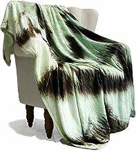 SimbaDeco Decke/Überwurf für Zuhause, große