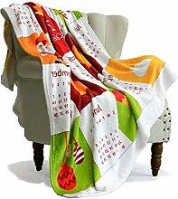 SimbaDeco Überwurf, Decke, Überwürfe für