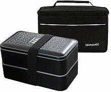 Simboom Lunchbox Bento Box mit Kühltasche