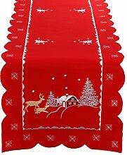 Simhomsen Weihnachten Urlaub Tischläufer mit