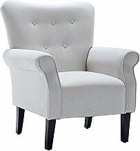 Simhoo Einzelsessel, Massivholz Lounge Sofa,