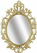 Simmer Stone Wandspiegel, oval, Vintage-Design,