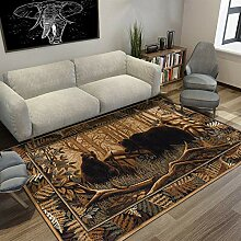 Simmia Home Modern Trendig Teppich Forest Grizzly