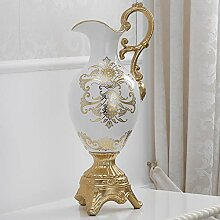 SIMONE GUARRACINO LUXURY DESIGN Barock Vase mit