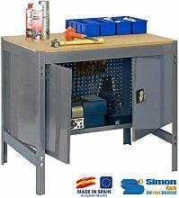 simonrack 338100213001200BT/3Locker 1200-Set Werkbank