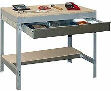 simonrack 338100945906092Kit BT/3Box 900-Set Werkbank Dunkelgrau/Holz