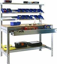 simonrack 778100945157514Kit BT/1Box 1500Kit D Werkbank, verzinkt,/Holz