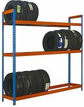 simonrack autoforte 2404–3Regal Kit Blau/Orange