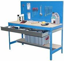 Simonrack BT-2 Box 1200 Werkbank-Set, blau, aus