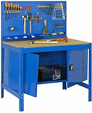 simonrack bt-2 Locker 900-Set Werkbank blau