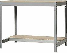Simonrack - Set Bt-3 1200 Dunkelgrau/Holz