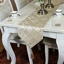 Simple,fresh table flag/bett flagge/nordeuropa,gitter,pastorale tischläufer-A 30x220cm(12x87inch)