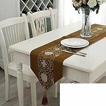 Simple,Mode,Moderne,Chinesisch-art Tischläufer/Europäisches Bett/Betttuch/Pastorale Tischläufer-I 33x198cm(13x78inch)