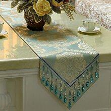 Simple,mode tischläufer und tuch/europäisch,gehobenen sie,luxus esstisch flag/tee tischläufer/bett-runner-A 30x180cm(12x71inch)