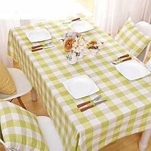Simple,moderne tuch/raster tischdecke/tischtuch/tischtuch-D 140x240cm(55x94inch)
