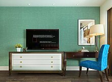 Simple plain Wallpaper moderne Nadelstreifen Schlafzimmer Arbeitszimmer reine Vliestapeten Dunkelgrün