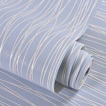 Simple plain woven Tapeten modernes Schlafzimmer