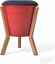Simple Storage Hocker Ändern Sie Schuh-Hocker Einfache moderne niedrige Hocker-Speicher-Stuhl-Art- und Weisekreative kleine Hocker-Speicher-feste hölzerne Hocker-Bank (Farbe wahlweise freigestellt) (30 * 43cm) Kann auf dem Hocker sitzen ( Farbe : C , größe : 3# )