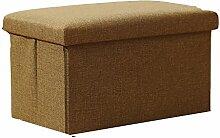 Simple Storage Hocker Aufbewahrung Hocker Aufbewahrung Hocker kann einen kleinen Hocker falten Multifunktionshocker (4 Farben optional) (40 * 25 * 25cm) Kann auf dem Hocker sitzen ( Farbe : B )