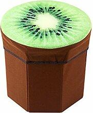 Simple Storage Hocker Tuch Obst Hocker Kreativ kann eine kleine Hocker Aufbewahrungsbox wechseln Schuh Hocker Tragen Ein Schuh Hocker Aufbewahrung Hocker Aufbewahrung Hocker (2 Farben optional) (28 * 29 * 30cm) Kann auf dem Hocker sitzen ( Farbe : A )