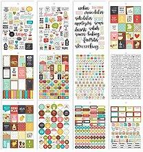 Simple Stories Rezept Aufkleber Tablet 8911