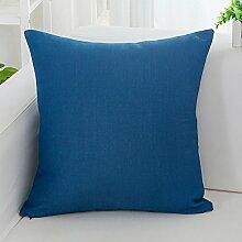 Simple thickening hug pillowcase sofa, leisure air conditioning, seat-A 45x45cm(18x18inch)VersionB