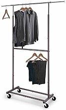 Simple Trending Kleiderständer mit Doppelstab,
