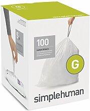 simplehuman code G, passgenaue Müllbeutel, 100