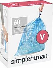 simplehuman Müllbeutel Code V, 3 x Pack mit 20